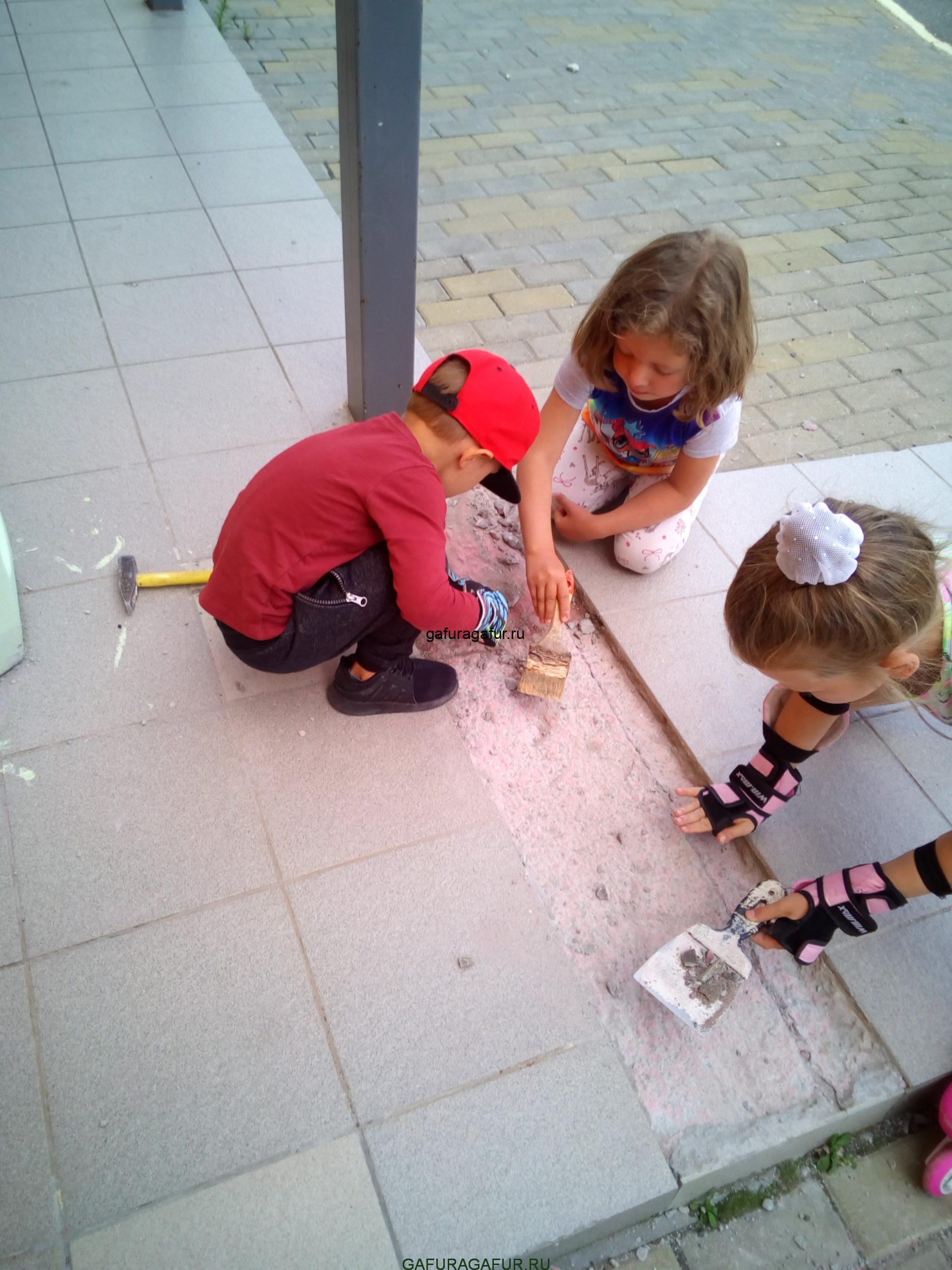Помощники дети